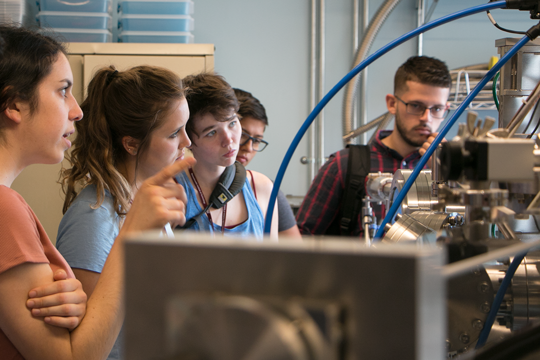 Summer Scholar projects span spinning magnetic particles to infrared sensing materials